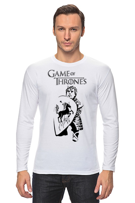 Лонгслив Printio Game of thrones (игра престолов) отпариватель delta dl 655 p white green