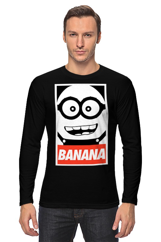 Лонгслив Printio Banana цена