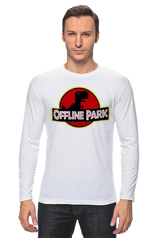 Лонгслив Printio Динозавры (парк юрского периода) сумка printio динозавры парк юрского периода