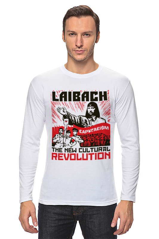 Лонгслив Printio Laibach / the new cultural revolution толстовка wearcraft premium унисекс printio laibach the new cultural revolution