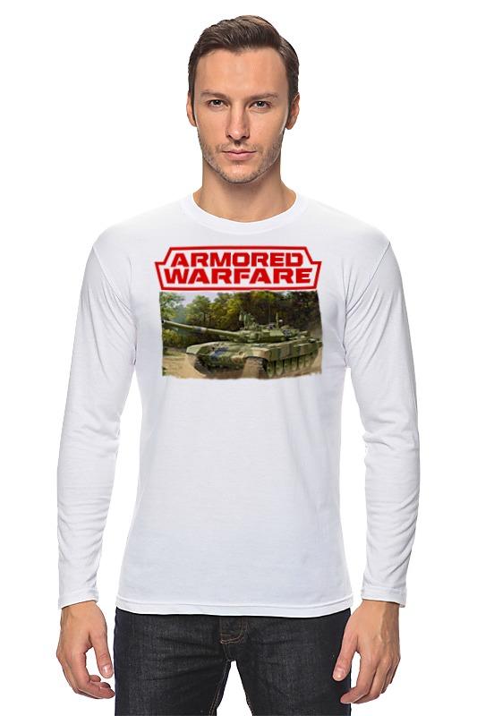 Лонгслив Printio Armored warfare игра plants vs zombies garden warfare 2 [ps4]