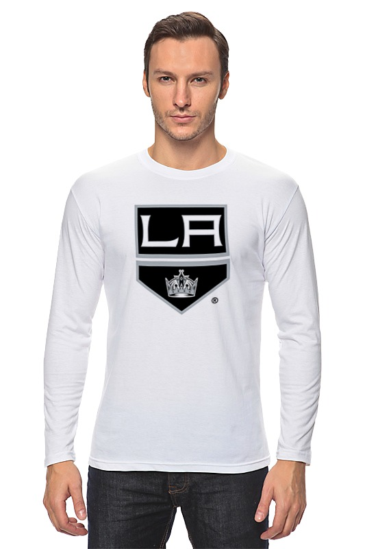 Лонгслив Printio Los angeles kings / nhl usa футболка wearcraft premium slim fit printio los angeles kings nhl usa