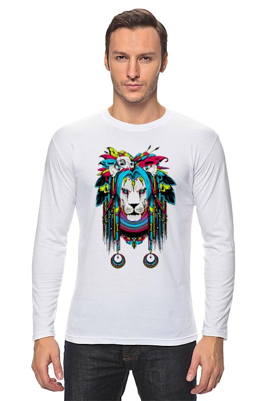 Лонгслив Printio Шаман-лев (ж) детская футболка классическая унисекс printio шаман лев ж