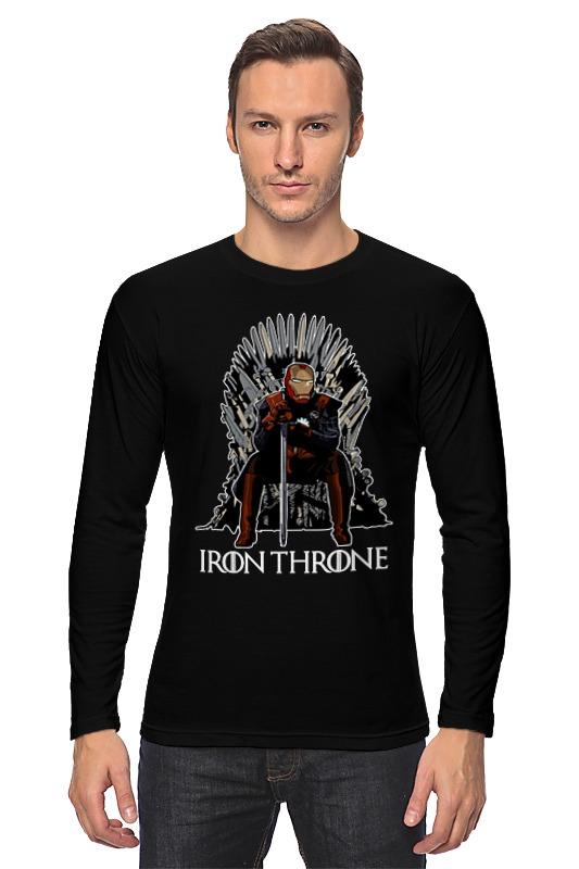 Лонгслив Printio Iron throne плед throne 150х200cm 103 1 2885345
