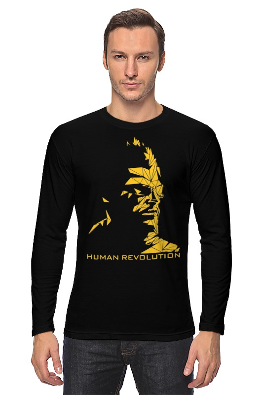 Лонгслив Printio Human revolution (deus ex) deus ex human revolution ultimate edition [mac] цифровая версия