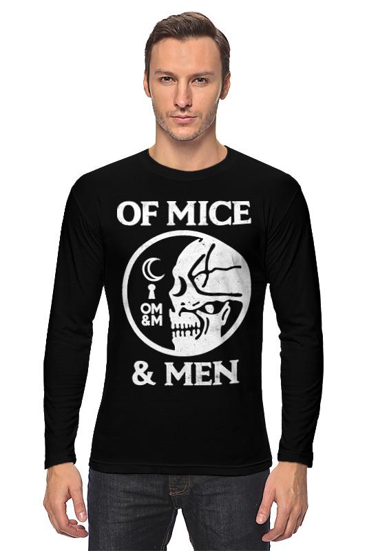 Лонгслив Printio Of mice & men лонгслив men of all nations лонгслив поло
