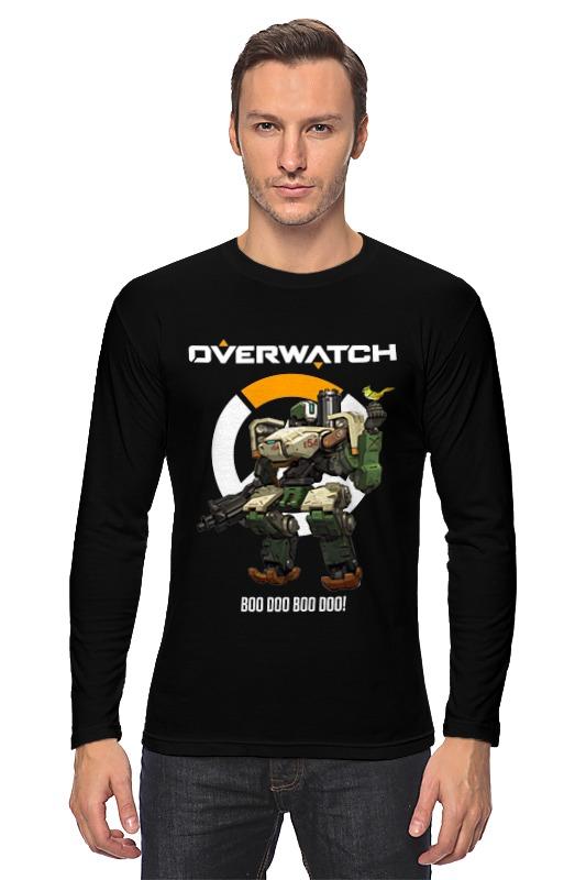 Лонгслив Printio Overwatch. бастион