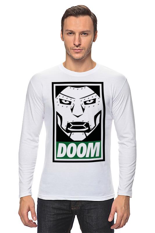 Лонгслив Printio Доктор дум (doctor doom) толстовка wearcraft premium унисекс printio доктор дум doctor doom
