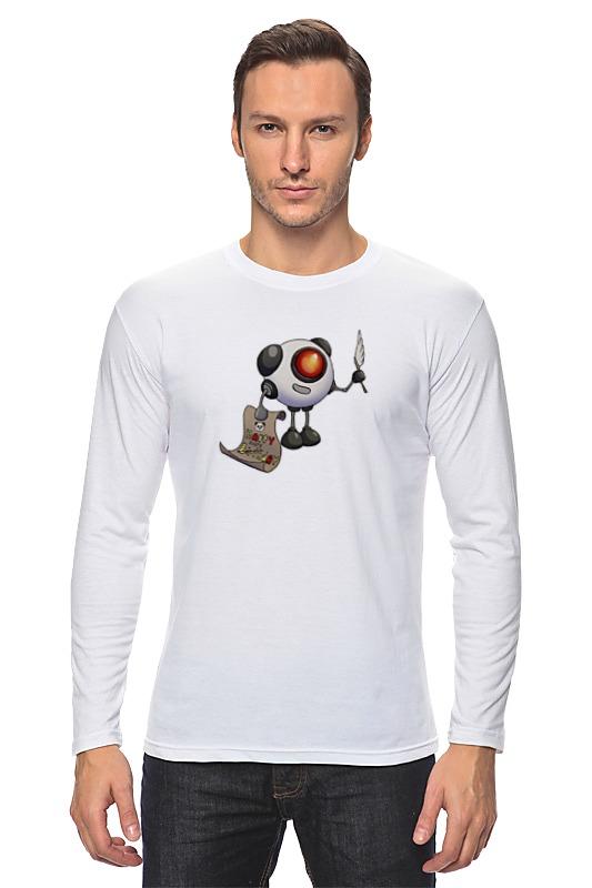 Лонгслив Printio Веселый робот робот zodiac ov3400