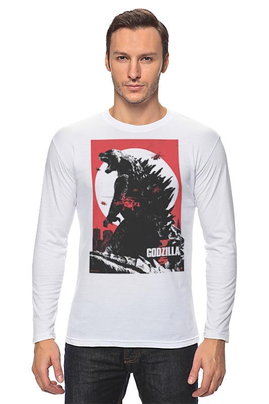Printio Godzilla gray лонгслив printio godzilla