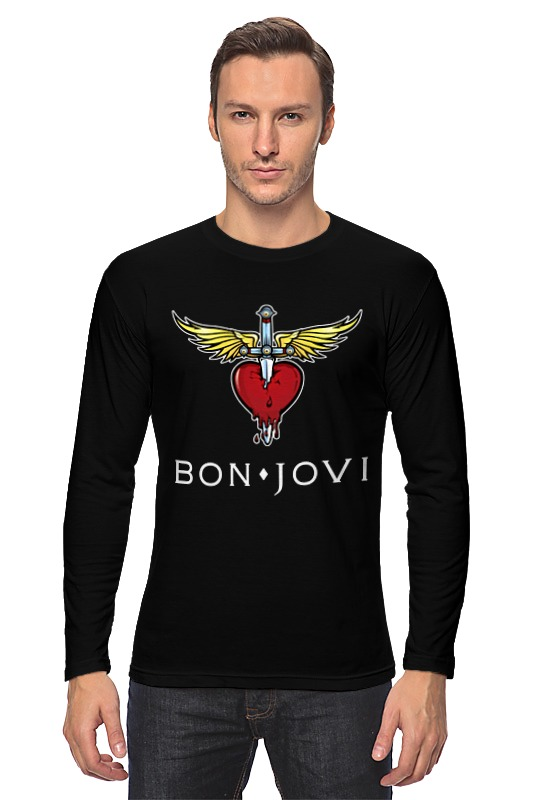 Лонгслив Printio Bon jovi
