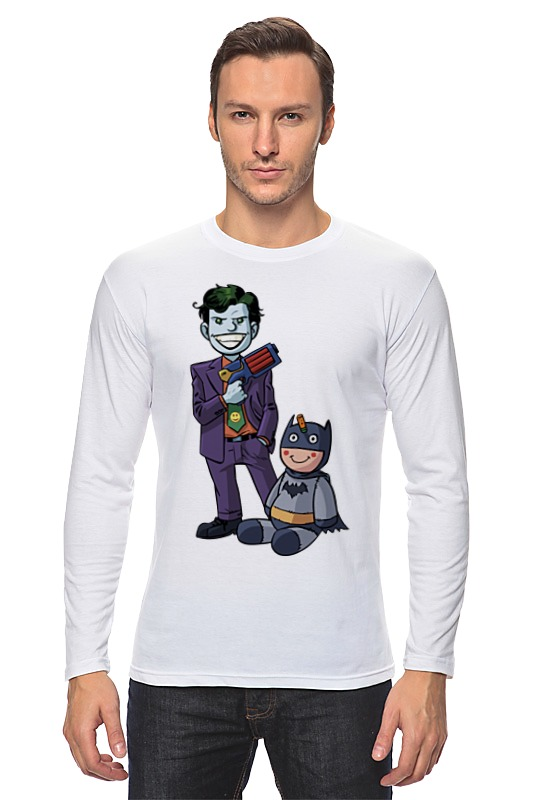 Лонгслив Printio Джокер и бэтмен лонгслив printio джокер бэтмен