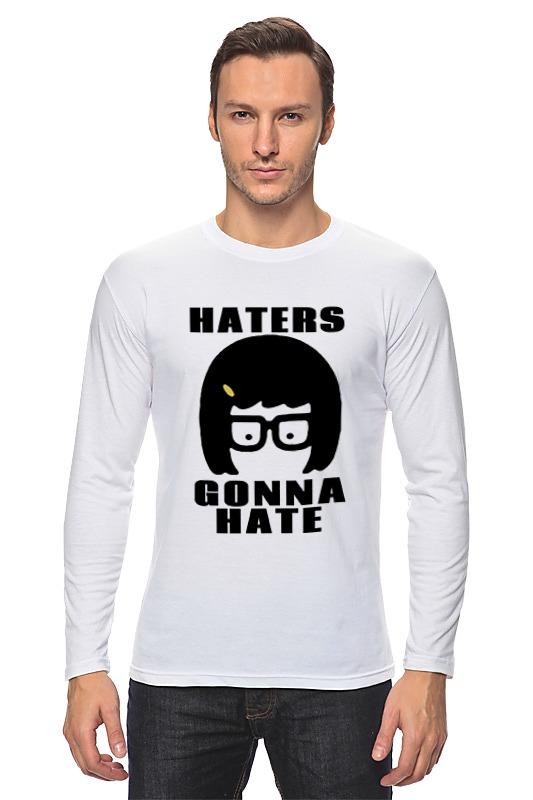 Лонгслив Printio Haters gonna hate (tina belcher) детская футболка классическая унисекс printio haters gonna hate tina belcher