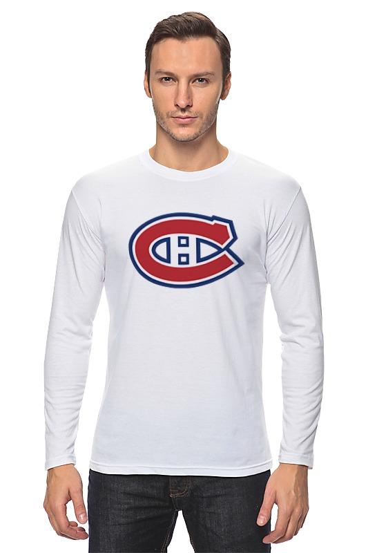 Лонгслив Printio Montreal canadiens / nhl canada одежда для занятий хоккеем reebok 10 montreal canadiens 10 lafleur 2014 hoodie nhl
