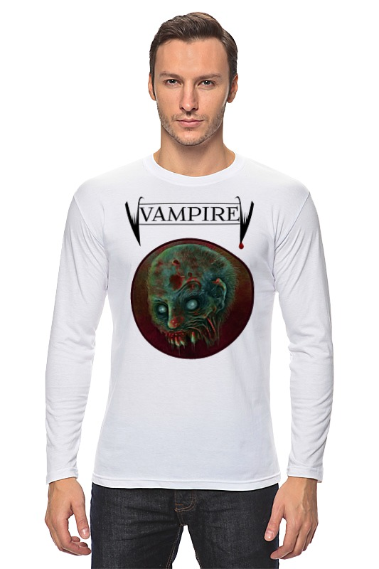 Лонгслив Printio Вампир вампир cdmp3