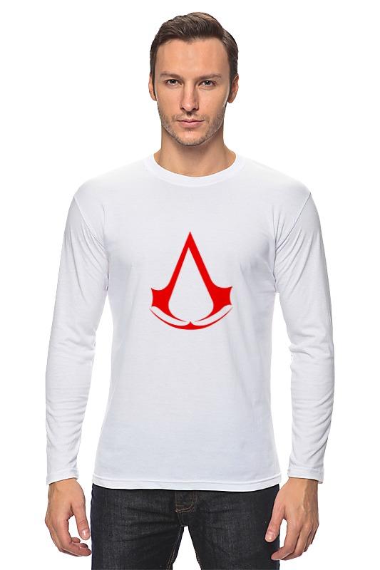 Лонгслив Printio Assassins creed (logo) детская футболка классическая унисекс printio assassins creed logo