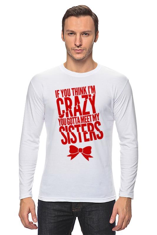 Лонгслив Printio Безумная сестра футболка классическая printio безумная сестра
