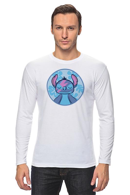 Лонгслив Printio Стич (лило и стич) футболка мужская top secret цвет белый spo3466bi размер xxl 52