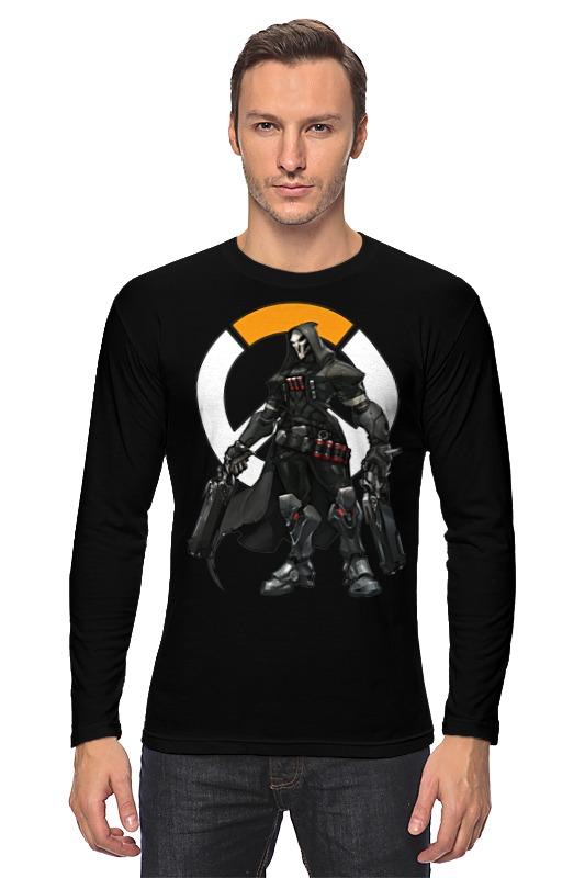 Лонгслив Printio Overwatch reaper / жнец овервотч