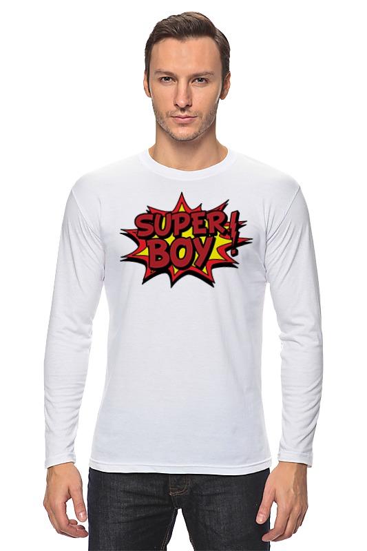 Лонгслив Printio Super boy