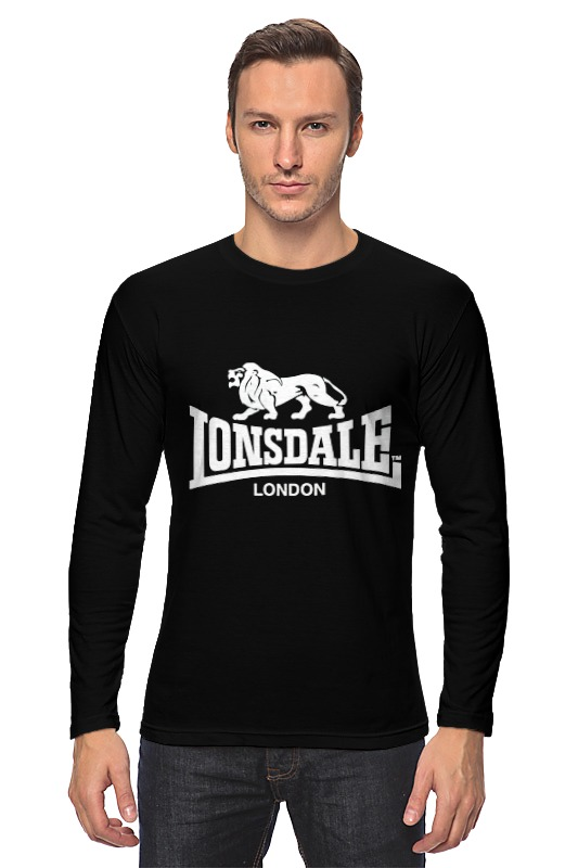 цена Лонгслив Printio Lonsdale london