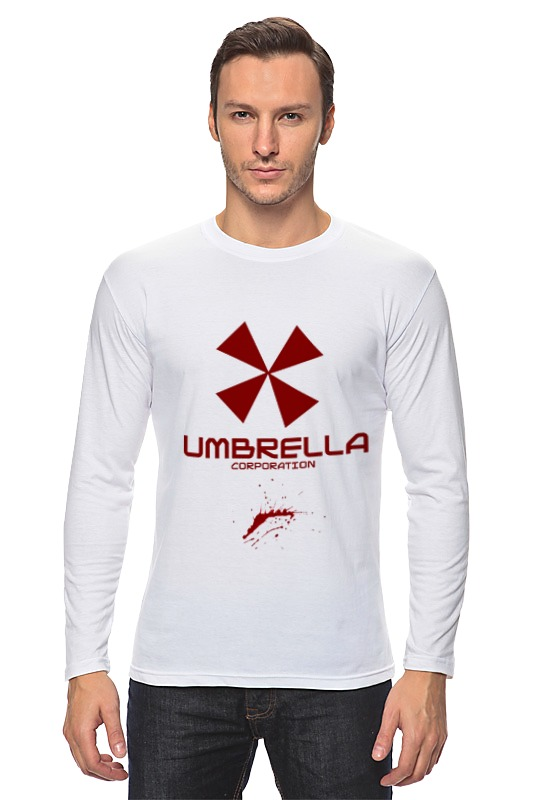 Лонгслив Printio Resident evil: umbrella corporation майка классическая printio umbrella resident evil