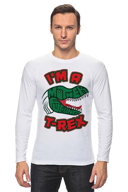 Лонгслив Printio Динозавр