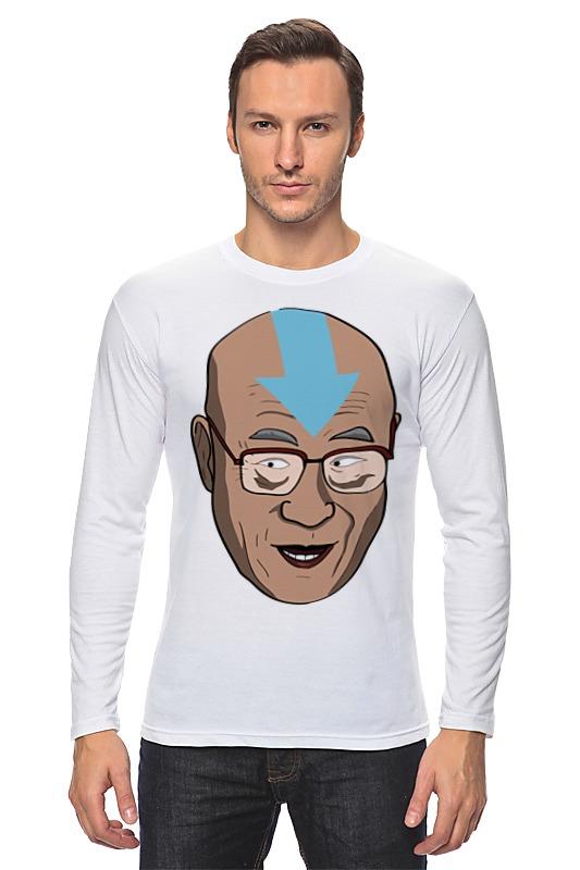 Лонгслив Printio Далай лама (аватар) футболка с полной запечаткой мужская printio далай лама