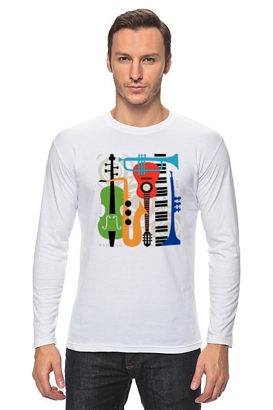 Лонгслив Printio Музыкальные инструменты музыкальные игрушки s s toys музыкальные инструменты