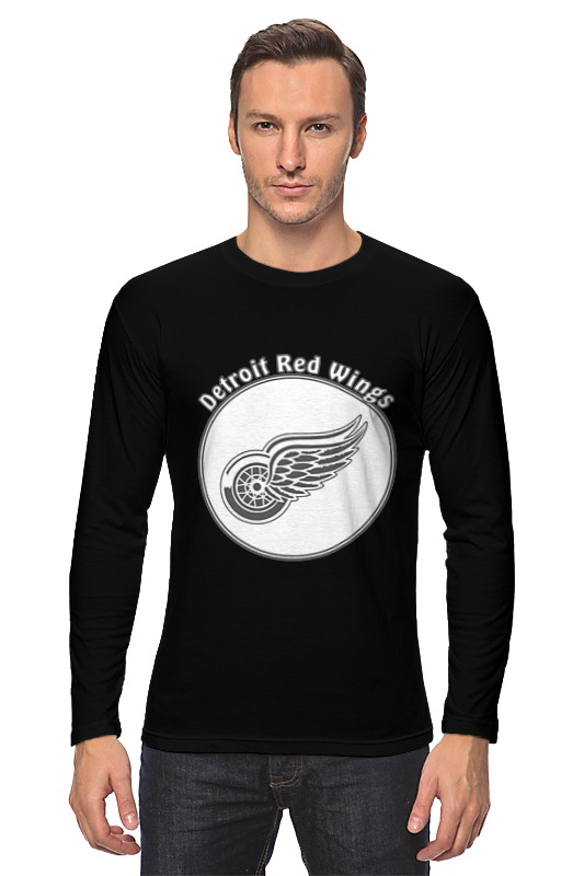 Лонгслив Printio Detroit red wings цена и фото