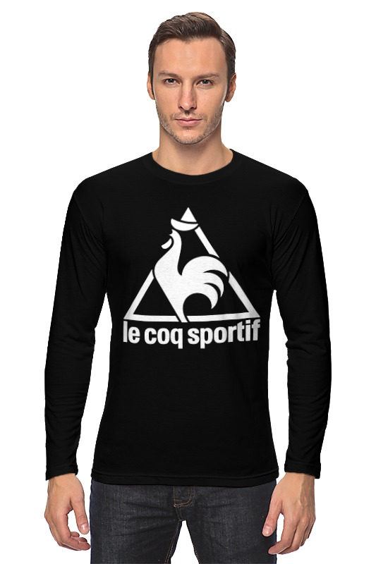 Лонгслив Printio Le coq sportif t-shirt le coq sportif футболка le coq sportif boucry tee dress blues