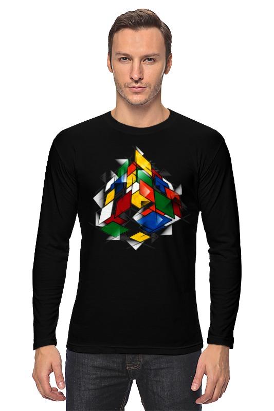 Лонгслив Printio Кубик рубика кружка printio кубик рубика