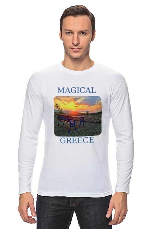 Лонгслив Printio Магическая греция