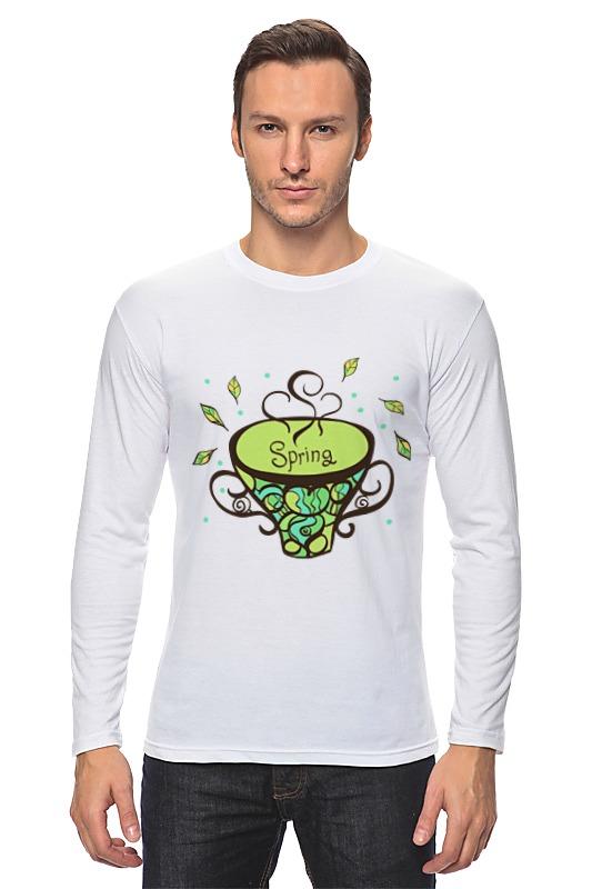 Лонгслив Printio Зеленый чай аксессуар для рыбалки akara 8014 зеленый