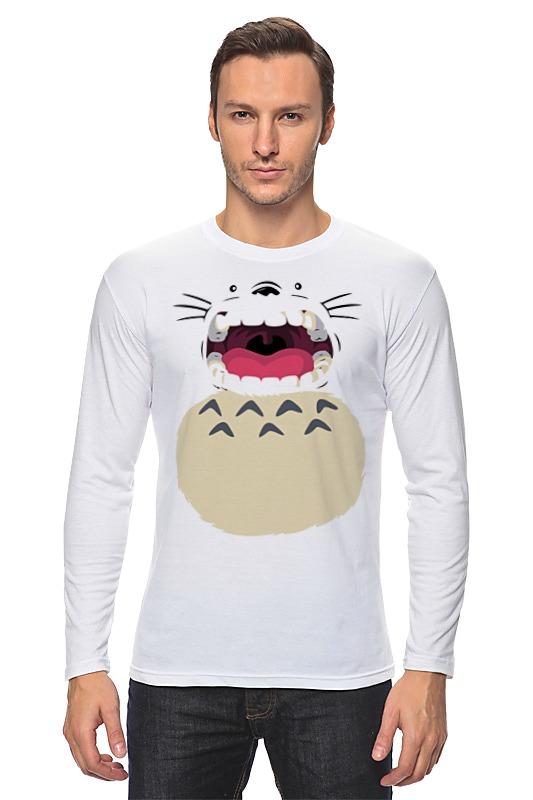 Лонгслив Printio Totoro (тоторо) толстовка wearcraft premium унисекс printio мой сосед тоторо my neighbor totoro