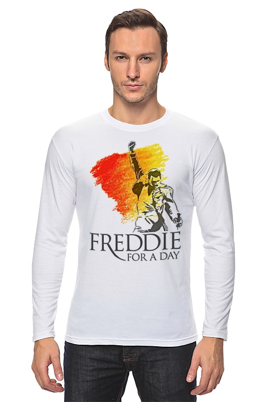 Лонгслив Printio Freddie mercury - queen freddie mercury the great pretender blu ray
