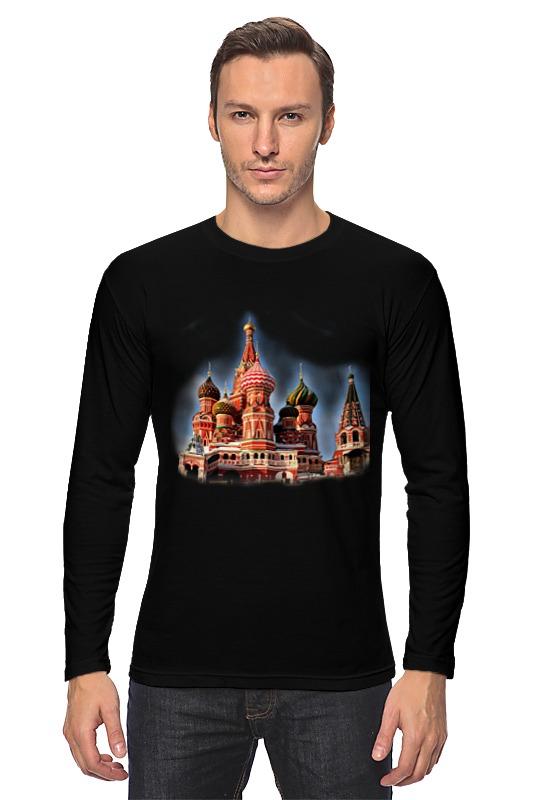Лонгслив Printio Москва лонгслив printio московская область москва