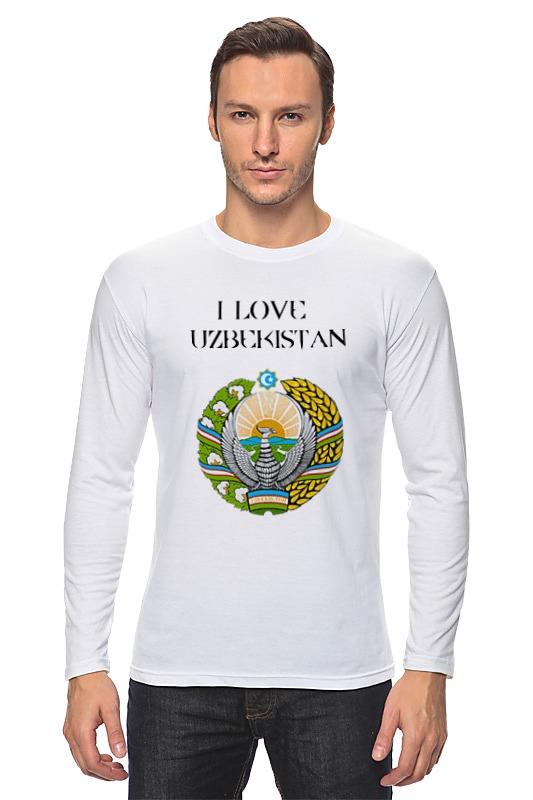 Лонгслив Printio Uzbekistan футболка классическая printio uzbekistan