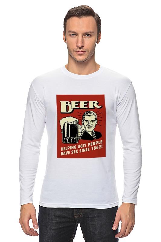 Лонгслив Printio Пиво! лонгслив printio пиво beer