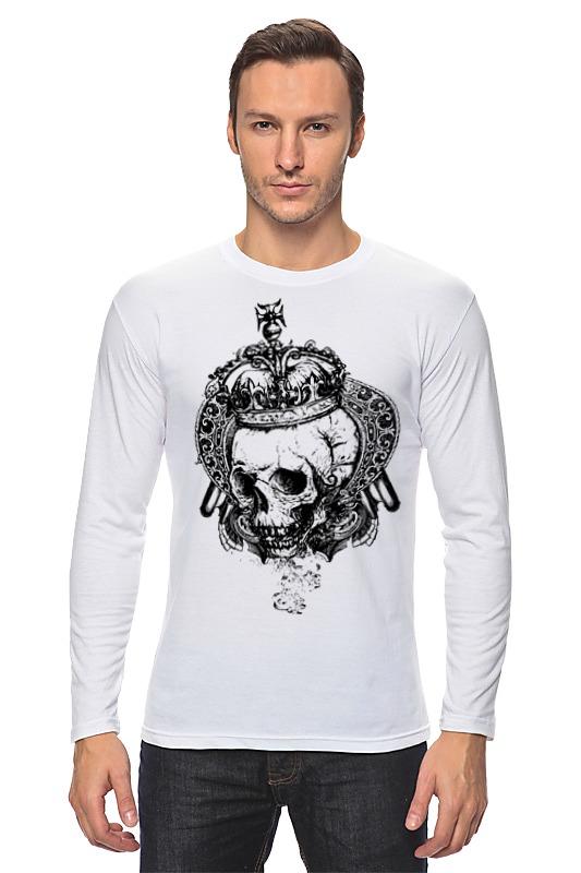 Лонгслив Printio Королевский череп мицелий грибов шампиньон королевский субстрат объем 60 мл