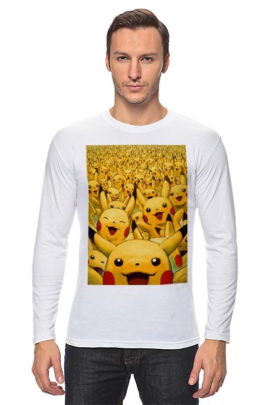 Лонгслив Printio Pokemon go by k.karavaev блокнот printio pokemon go