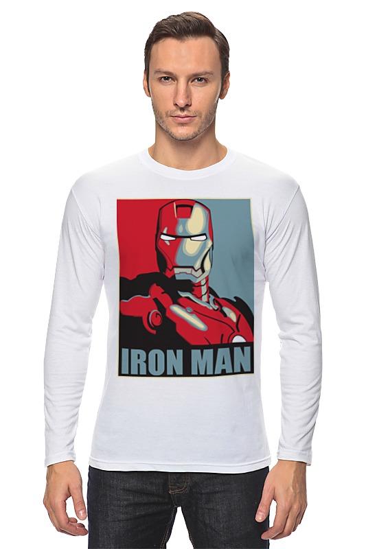 Лонгслив Printio Iron man busiek kurt iron man