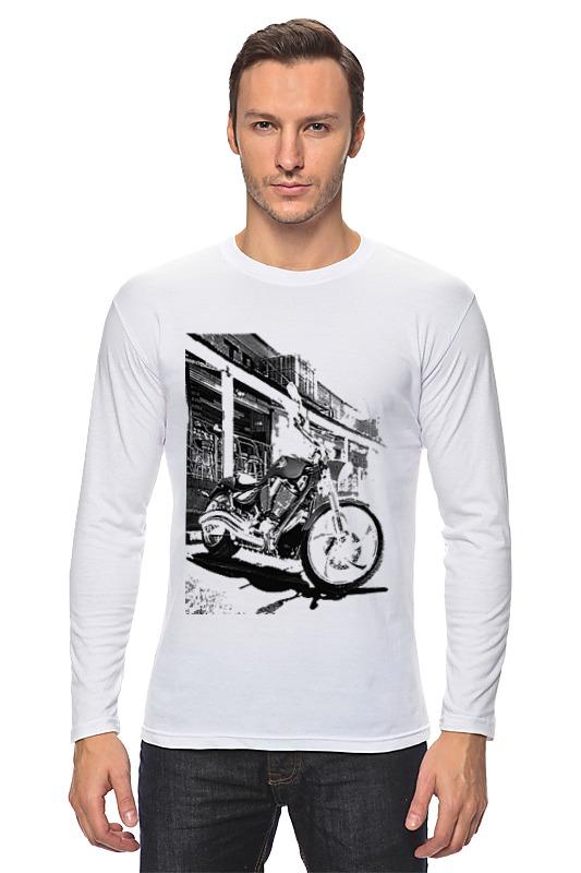 Лонгслив Printio Мотоциклы мотоциклы