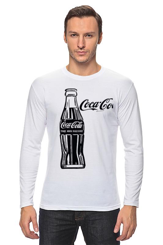 Лонгслив Printio Кока-кола (coca-cola) colibri стол coca cola