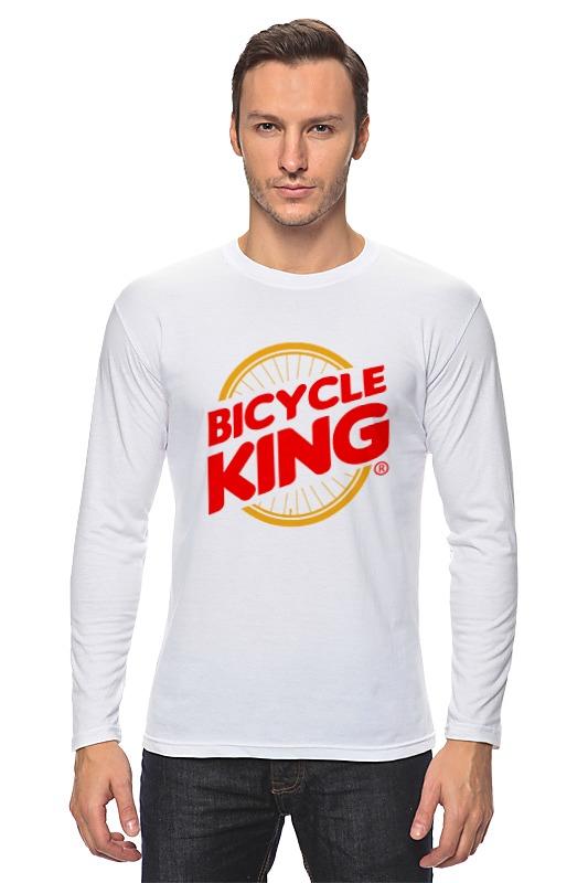Лонгслив Printio Велосипедный  король deroace велосипедный цепной стальной замок для электрокара электро мотороллера мотора