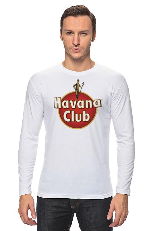 Лонгслив Printio Havana club havana black cream
