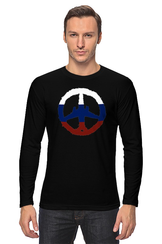Лонгслив Printio Самолет, солидарность, россия (а321) бюсси м самолет без нее