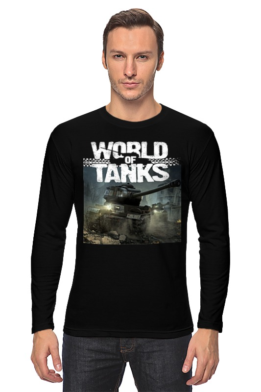 Лонгслив Printio World of tanks лонгслив men of all nations лонгслив поло