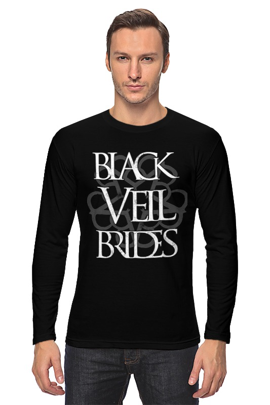 Лонгслив Printio Black veil brides цена