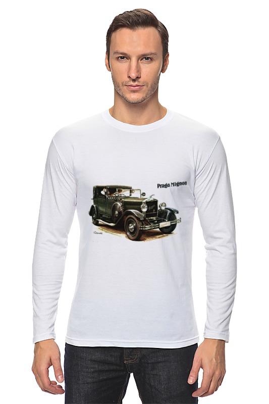 Лонгслив Printio Ретроавтомобили чартер для всех